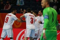 پیروزی تیم ملی فوتسال ایران مقابل آمریکا/ صعود ایران قطعی شد