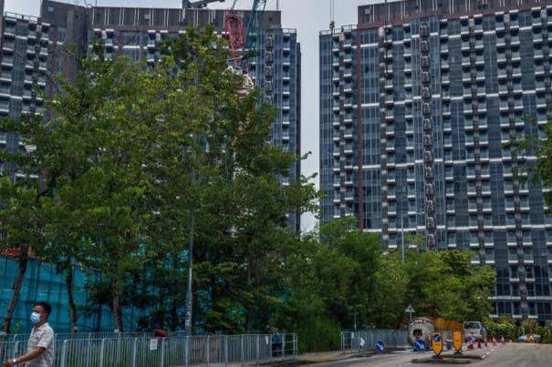 بزرگترین شرکت ساختمانی چین در معرض ورشکستگی قرار گرفت