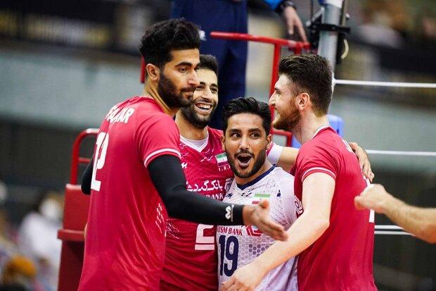 چین حریف تیم ملی والیبال ایران در مرحله نیمه نهایی شد