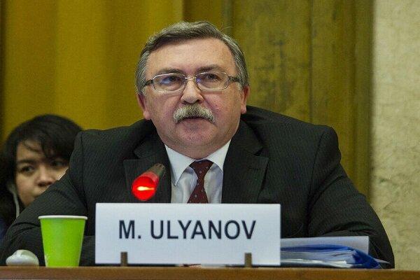 اوليانوف: لا سبب يدعو للتشاؤم تجاه الاتفاق النووي