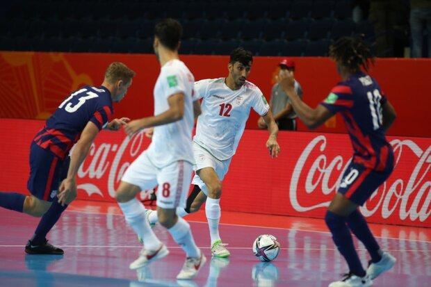 تصاویری از دیدار تیم ملی فوتسال ایران مقابل آمریکا
