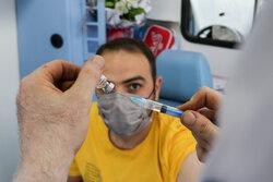 رکورد روزانه واکسیناسیون در پایگاه های مدیریت بحران شکسته شد