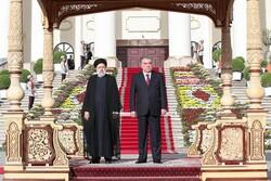 استقبال رسمی «امامعلی رحمان» از رئیسی