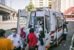 واکسیناسیون سیار در سطح شهر تبریز