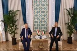 Iran, Tajikistan FMs stress inclusive gov. in Afghanistan