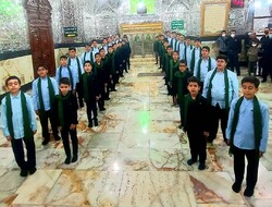 ضبط آثار گروه همخوانی نوجوانان محمدرسول الله(ص)