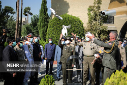 آیین افتتاح سومین نمایشگاه بین المللی صلح و دفاع ارتش