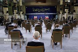 İslam Devrimi Lideri'nin bugünkü görüşmesinden fotoğraflar