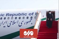 رئیسی وارد شهر کولاب تاجیکستان شد