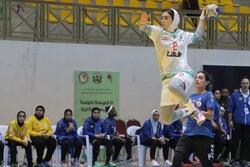 مصاف تیم ملی هندبال بانوان ایران و قزاقستان برای سومی در آسیا
