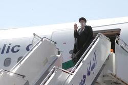 الرئيس الايراني يعود الى طهران