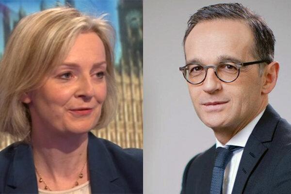 UK, German FMs stress need to revive JCPOA talks