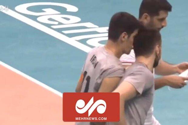 مصدومیت عجیب والیبالیست تیم ملی