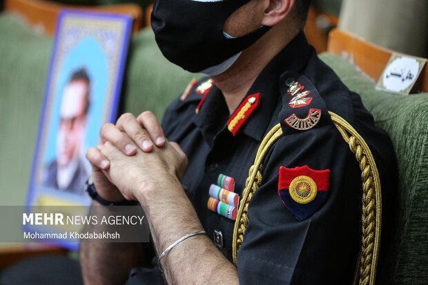 وابستگان نظامی از کشورهای مختلف در آیین افتتاح سومین نمایشگاه بین المللی صلح و دفاع ارتش جمهوری اسلامی ایران حضور یافتند.