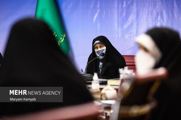 انسیه خزعلی معاون امور زنان و خانواده ریاست جمهوری در نشست با فعالان اصولگرا در حوزه زنان حضور یافت.