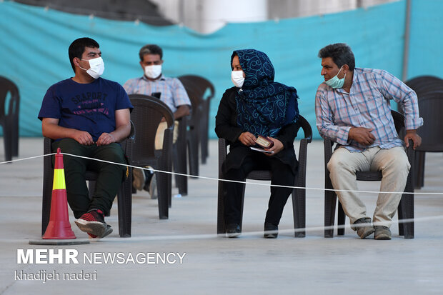 واکسیناسیون کرونا در اصفهان