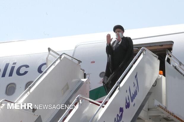 رئیسجمهور «کولاب» را به مقصد تهران ترک کرد
