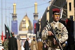 Iraq forces thwart terrorist op. against Arbaeen pilgrims