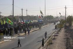 Irak'ta Erbain zairleri Kerbela yolunda