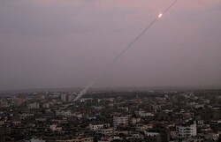 جنبش حماس موشک جدیدش را آزمایش کرد