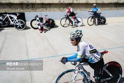 مسابقات  دوچرخه سواری پیست بانوان کشور