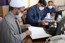 عقد تفاهم نامه ارائه خدمات حمایتی با محوریت مساجد در استان مرکزی