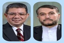 Malaysia FM congratulates Iranian counterpart