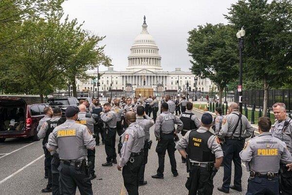 حامیان ترامپ در میان تدابیر شدیدامنیتی تجمع اعتراضی برگزار کردند