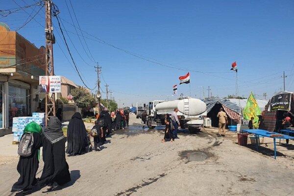 طرح ویژه امنیتی حمایت از زائران اربعین در بابل عراق