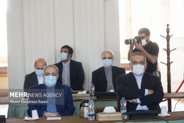 معاونین وزارت امور خارجه در مراسم معارفه معاونان جدید سیاسی وزارت خارجه حضور دارند