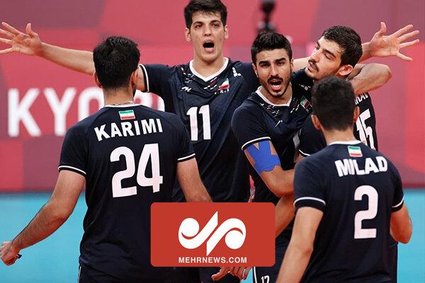 والیبال ایران با اقتدار بر بام آسیا ایستاد
