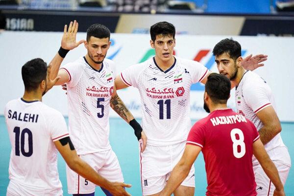 ۵ ایرانی در جمع برترینهای مسابقات والیبال قهرمانی آسیا