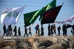 مسيرة الاربعين الحسيني من الكوفة إلى كربلاء