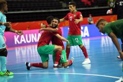 صعود تیم ملی فوتسال مراکش به مرحله یک چهارم با شکست ونزوئلا