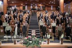 Introduction, farewell ceremony of Iran Defense Uni. heads