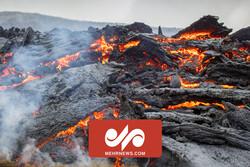گدازههای آتشفشان لاپالمای اسپانیا به خانهها رسید