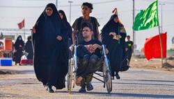 ارسال ۸ تریلی اقلام مورد نیاز زوار اربعین به عراق