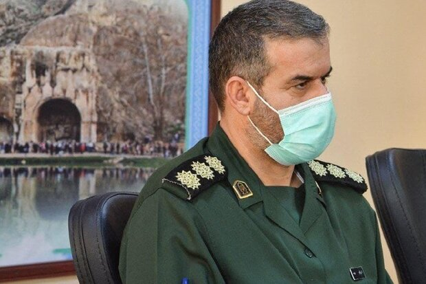 خنثی سازی نقشه دشمنان به کمک جوانان بسیجی کرمانشاهی