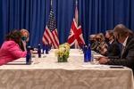 US, British FMs discuss Iran, Afghanistan