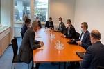إيران وألمانيا تستعرضان القضايا الثنائية والمستجدات المتصلة بالاتفاق النووي