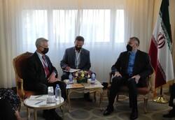 Emir Abdullahiyan BM Mülteciler Yüksek Komiseri ile Afganistan'ı görüştü