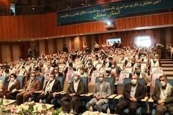 ۳۰ هزار رزمنده دفاع مقدس استان سمنان تقدیر شدند