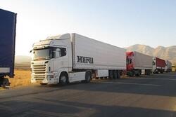 روزانه ۴۰۰ کامیون کالا از مرز مهران به عراق صادر می شود