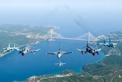 Türkiye ve Azerbaycan selamlama uçuşu gerçekleştirdi
