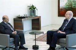 رایزنی «عون» با «میقاتی» درباره تجاوز اخیر رژیم صهیونیستی به حاکمیت لبنان