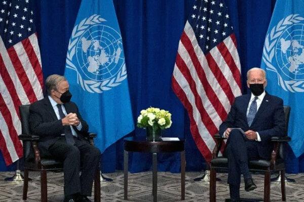 بايدن يؤكد على ان الشراكة مع الأمم المتحدة أقوى من أي وقت مضى