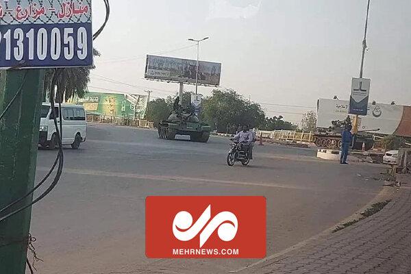 تصاویری از کودتای نافرجام در سودان