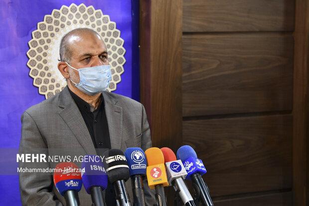 احمد وحیدی وزیر کشور به سوالات خبرنگاران پس از  جلسه قرارگاه ستاد ملی مبارزه با کرونا پاسخ می دهد