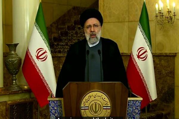 رئيسي: لاتوجد أي مكانة للأسلحة النووية في العقيدة الدفاعية والردعية الإيرانية