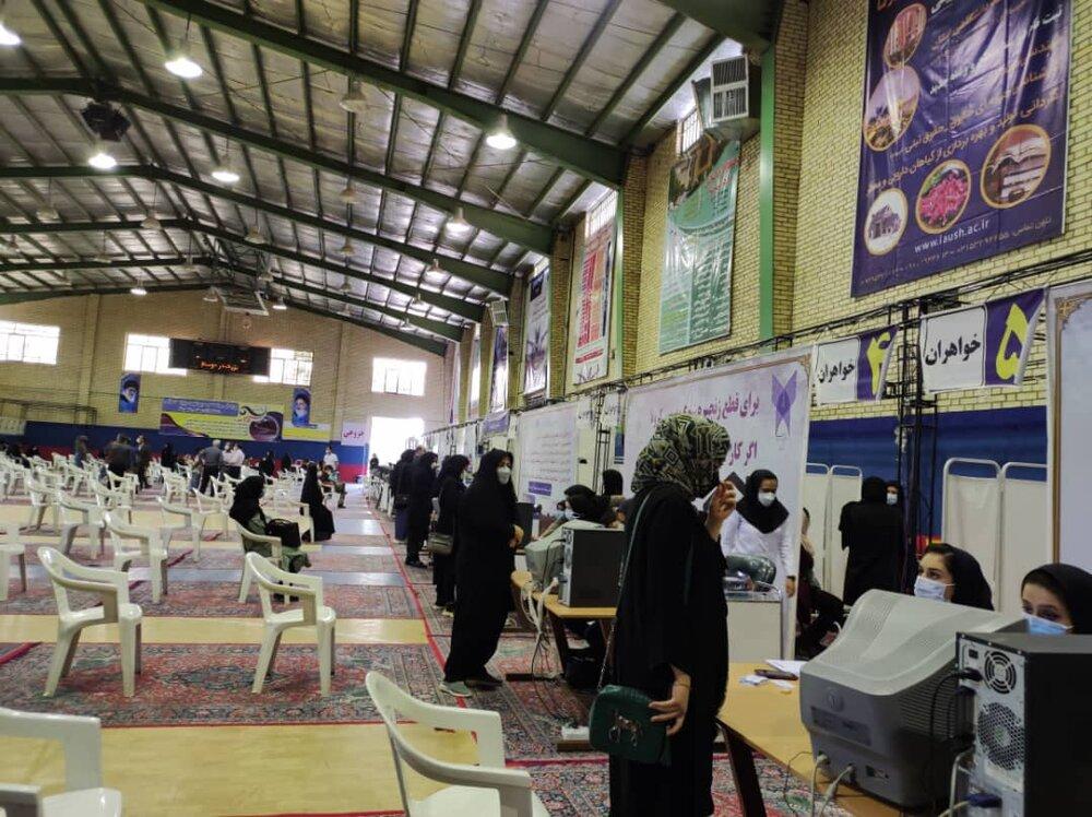 تعداد مراکز تزریق واکسن کرونا در زنجان به ۵۸ مرکز افزایش یافت